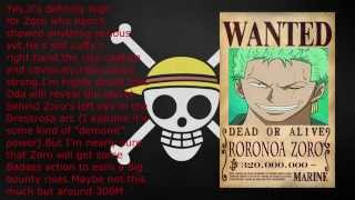 getlinkyoutube.com-One Piece bounty prediction after Dressrosa
