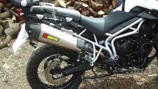getlinkyoutube.com-triumph tiger 800 akrapovic exhaust