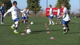 getlinkyoutube.com-Soccer Training - Passing Drills 1
