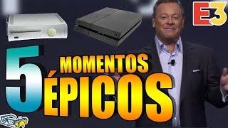 5 momentos MÁS ÉPICOS de la HISTORIA DEL E3 | SQS