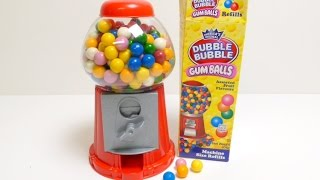 getlinkyoutube.com-Gumball Machine (Dubble Bubble Gum) - Gum Machine ガムボールマシーン