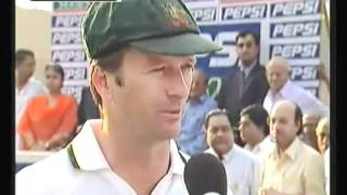 India's Best Cricket Test Series vs Aus 2001