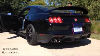 getlinkyoutube.com-2016 Ford Mustang Shelby GT350R: Start Up and Revs with Active Exhaust