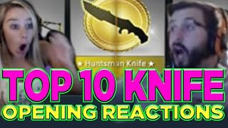 getlinkyoutube.com-Top 10 CS: GO Knife Opening Reactions