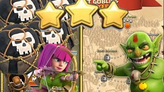 getlinkyoutube.com-Clash of Clans: 3 STAR| Mega Evil | TH 6