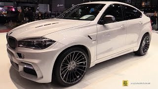 getlinkyoutube.com-2015 BMW X6 M50d by Hamann - Exterior and Interior Walkaround - 2015 Geneva Motor Show