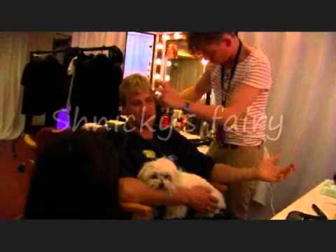 Westlife Kian Egan Backstage at the O2 blueroom 2010 (Part 2)