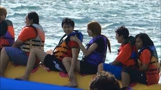 getlinkyoutube.com-นัน หงหยก AF10 @69NHYtrip - Banana boat จ๋า พี่มาแล้วจ้า