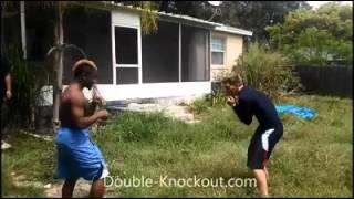 getlinkyoutube.com-Street Fight & Knockout - Boxing Knockouts Crazy Real Life Fight # fight 32
