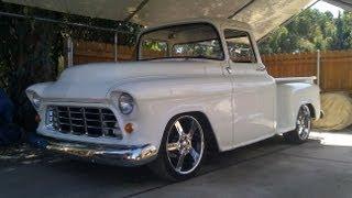 getlinkyoutube.com-1955 Chevy Truck ( 2 year BackYard Rebuild Step by Step )