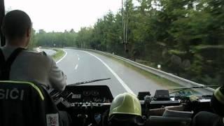 getlinkyoutube.com-Výjezd - hromadná dopravní nehoda - Jihlavský tunel, 5.6.2012