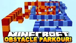 getlinkyoutube.com-Minecraft OBSTACLE COURSE PARKOUR 2! (Epic Map!) w/ PrestonPlayz
