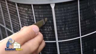 ComfortSpec Home Inspection AC Condenser Maintenance