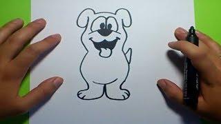 getlinkyoutube.com-Como dibujar un perro paso a paso 19 | How to draw a dog 19