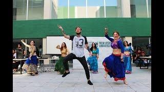 Dil Laga Na / dance group Lakshmi /  Visiting in the New Vision University width=