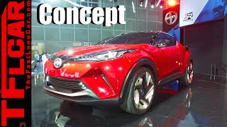 getlinkyoutube.com-Sexy Scion C-HR Concept Crossover: Everything You Ever Wanted to Know