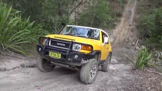 getlinkyoutube.com-FJ Cruisers off-road - Killingworth - March-2016 - Part 1