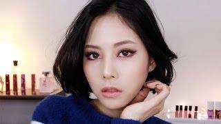 getlinkyoutube.com-큐피트 라인 스모키 메이크업 (THE DOLCE VITA LOOK) : cupid line smokey make up