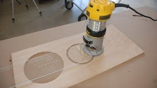 getlinkyoutube.com-How to Build a Circle Cutting Jig for Your Router