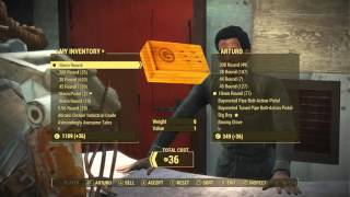 getlinkyoutube.com-Fallout 4 Unlimited Caps Glitch Step By Step Guide! Infinite Caps In Fallout 4 (Fallout 4 Glitches)