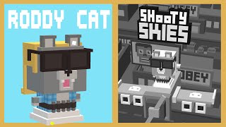 getlinkyoutube.com-SHOOTY SKIES Secret Characters RODDY CAT Unlock | 50 Shopping Carts w Rowdy Cat | iOS Gameplay