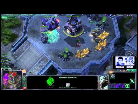 (HD308) Norman & Kemar vs Pomf & Thud - 2v2 - Starcraft 2 Replay [FR]