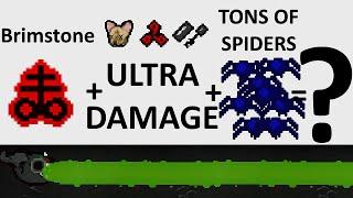 getlinkyoutube.com-The Binding Of Isaac: Rebirth - INSANE BRIMSTONE DAMAGE + SPIDER KING - SICK COMBOS Ep. 15