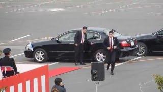 getlinkyoutube.com-【平成28年愛知県警察視閲式】車列警護訓練展示