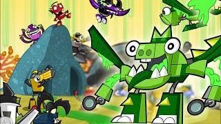 getlinkyoutube.com-Mixels Rush: Series 6 Glorp Corp Max Land ALL levels - Cartoon Network Games