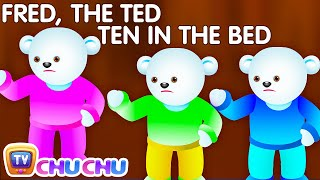 getlinkyoutube.com-Ten In The Bed Nursery Rhyme With Lyrics - Cartoon Animation Rhymes & Songs for Children
