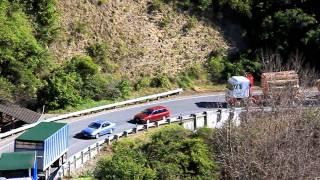 getlinkyoutube.com-Napier Wairoa road trucking up Tangoio hill