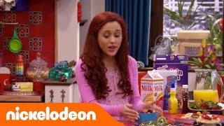 getlinkyoutube.com-Sam & Cat   Colazione per #LaStarScomparsa   Nickelodeon