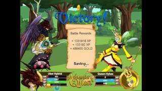 getlinkyoutube.com-Adventure Quest Best High Level Farming Spot   20 Minute Grind