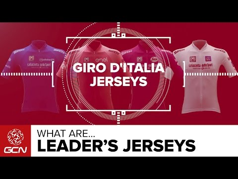 What Are The Giro d'Italia Leader's Jerseys? | Road Racing Explained