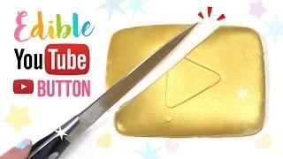 getlinkyoutube.com-DIY EDIBLE Youtube Play Button!! DIY Jelly Gummy GOLD Play Button!