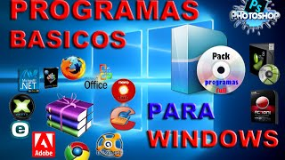 getlinkyoutube.com-Pack De Programas indispensables para Windows Luego De Formatear