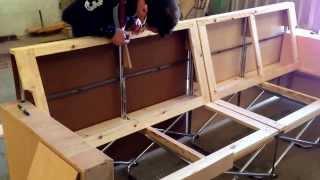 getlinkyoutube.com-Diseñando la estructura y bastidor de un sofá SOFOLD de 4 plazas con chais longue