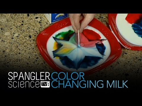 Color Changing Milk - Cool Science Experiment -pTe2pqlQWTo