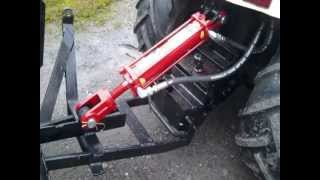 getlinkyoutube.com-Homemade garden tractor box blade