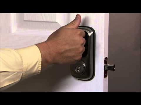Yale Real Living Touchscreen Deadbolt Programming - Advanced Lock Settings - Handing the Lock 08