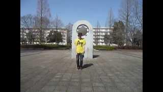 getlinkyoutube.com-天てれ MTK 【ラッキー・ラブ】 そこそこダンス振付コピー:普通系