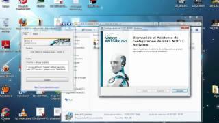 getlinkyoutube.com-instalar nod32  5 full activado