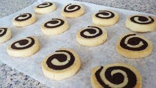 getlinkyoutube.com-CHOCOLATE PINWHEEL COOKIES! (Recipe Tutorial)