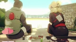 ShikaTema sweet moment (Shikamaru - Temari)