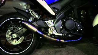 getlinkyoutube.com-ชุดท่อFULL TITANIUM M-SLAZ 150