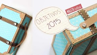 getlinkyoutube.com-Maleta retro vintage de papel - Manualidades de papel | Craftingeek