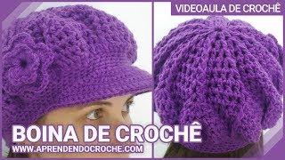getlinkyoutube.com-Boina de Croche Burguesinha - Aprendendo Crochê