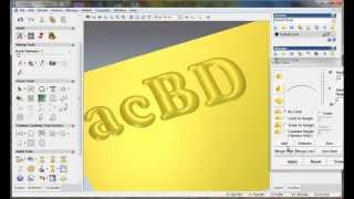 getlinkyoutube.com-create relief from vector with ArtCAM 2008, artcam relief tutorial