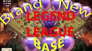 getlinkyoutube.com-Clash Of Clans -BEST NEW TOWNHALL 10 WAR/LEGEND LEAGUE BASE - 275 WALLS