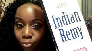 getlinkyoutube.com-Model Model Indian REMY Wet/Wavy Jerry Curl Unpackaging! Ka'oir Lipstick